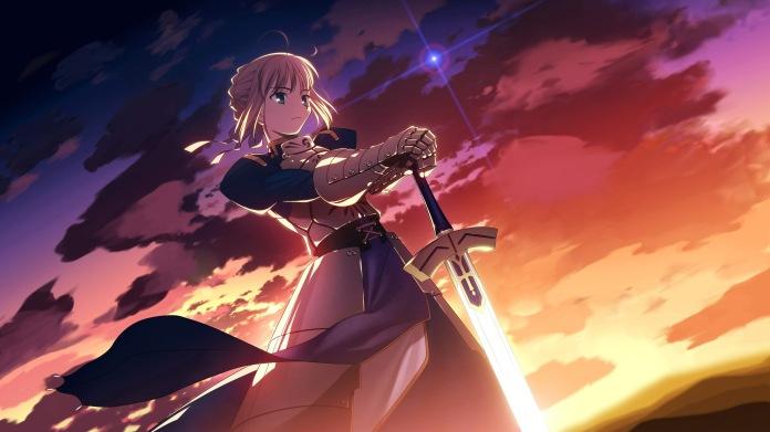 Resultado de imagem para Fate/stay night
